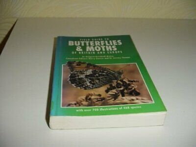 Field Guide to Butterflies and Moths of Bri... by Reichholf-Rehm, Helg Paperback