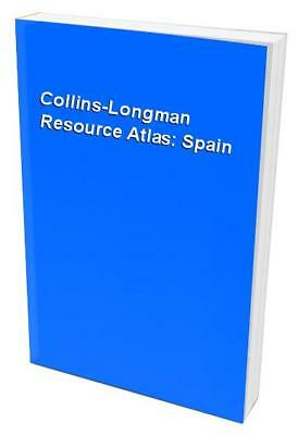 Collins-Longman Resource Atlas: Spain Paperback Book The Cheap Fast Free Post