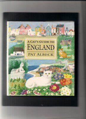 A Cat's Guide to England by Pat Albeck Hardback Book The Cheap Fast Free Post
