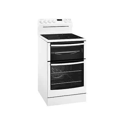 Westinghouse WLE547WA  54cm Freestanding Electric Cooker with separate grill