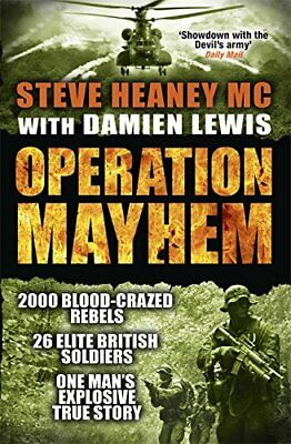 Operation Mayhem by Lewis, Damien Book The Cheap Fast Free Post
