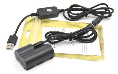 BP-511 powr charger cable ACK-E2+DR-400 dummy battery for Canon 5D 50D D30 D60