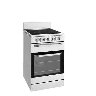 Chef CFE547SA Stainless steel 54cm freestanding cooker with  separate grill
