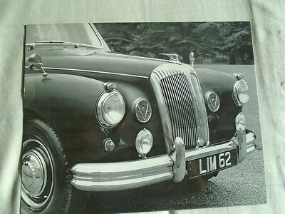 Daimler Limousine Press Photo brochure c1960's No 3