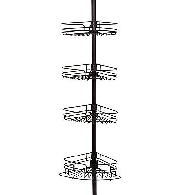 All Ware Zenith Products 2132HB Tub and Shower Tension Pole Caddy (2132HB) CXX