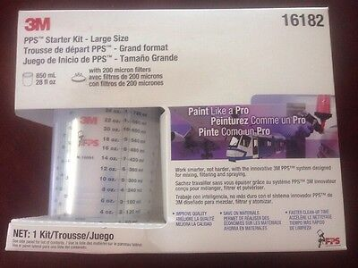 (1) Brand New 3M 16182 Pps Large Size Starter Kit With 200 Micron Filters