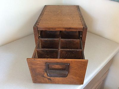 "1940s Vintage Globe Wernicke Index Card File Cabinet ""Property AirForce US Army"""