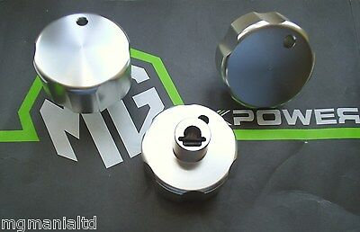 MGZR MG ZR Mk1 Ali Heater Knob Set Brand New mgmanialtd.com