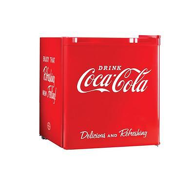 1.7 cu. ft Red Mini Freezer Bottle Storage Compact Refrigerator Coca-Cola Series