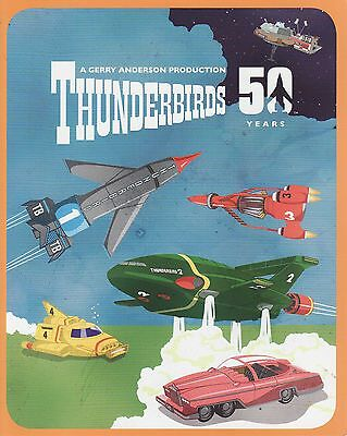 2015 Thunderbirds 50 Years Booklet.