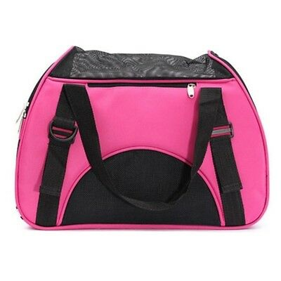 Pet Carry Bag Traveling Pack with Mat    Pink