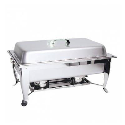 Chafer / Chafing Dish, Fuel Heated, 1/1 Food Pan, Folding Legl Buffet Warmer NEW