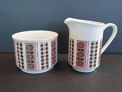 W.h.grindley & Co Satin White Ironstone Milk Jug/creamer And Sugar Bowl(No Lid)