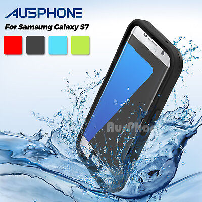 Waterproof Snowproof Dirtproof Heavy Duty Hard Case Cover For Samsung Galaxy S7
