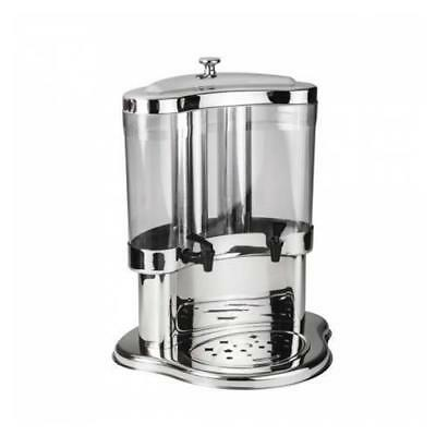 Juice / Drink Dispenser, Twin 5 Litre, Stainless Steel, Commercial Quality NEW