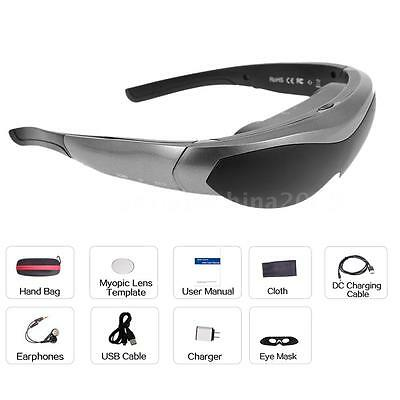 80'' Smart Virtual Video Glasses WiFi Bluetooth 4.0 Touch Screen Media Player