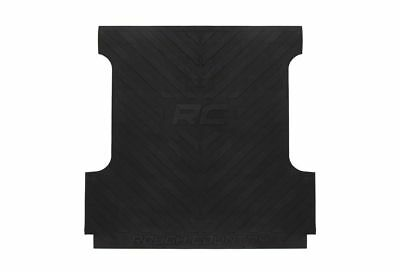 Rough Country Heavy Duty Rubber Bed Mat, Ford F-150 5.5' Bed; RCM640