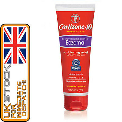 Cortizone 10 Intensive Healing Lotion, Eczema Itchy, Dry Skin - LARGE 99g, 3.5oz