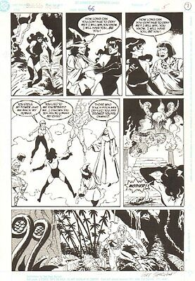 Suicide Squad #66 p.5 - Nightshade and Deadshot - 1992 art by Geoff Isherwood