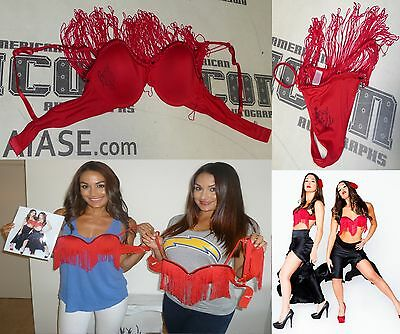 Nikki The Bella Twins Signed WWE Photo Shoot Worn Lingerie Set PSA/DNA Diva Ring