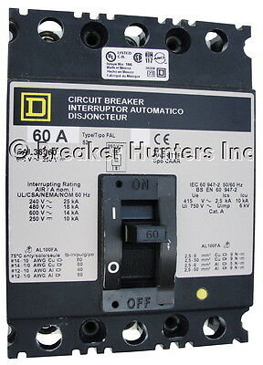 Square D FAL361001021 - Certified Reconditioned