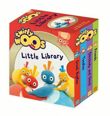 NEW Twirlywoos Little Library Board Book Free Shipping