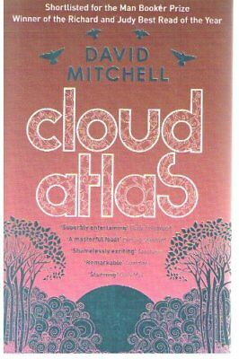 Cloud Atlas by David Mitchell Book The Cheap Fast Free Post