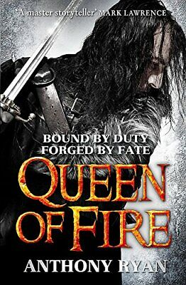Queen of Fire: Book 3 of Raven's Shadow by Ryan, Anthony Book The Cheap Fast
