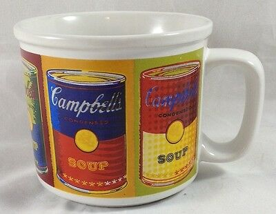 Andy Warhol Campbell's Condensed Soup Mug Cup