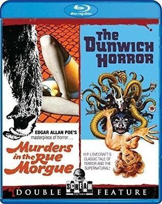 Murders in the Rue Morgue & the Dunwich Horror [New Blu-ray] Widescreen