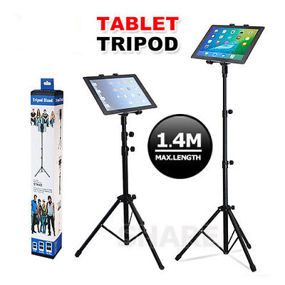 Tripod Stand Holder Adjustable Foldable Bracket iPad Universal Pad Music Stand