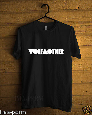 Wolfmother Australia Rock Band Black T-shirt for Man Size S-2XL