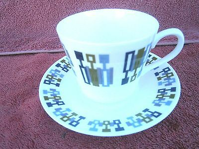 VINTAGE  ROYAL  VALE  CUP AND SAUCER  PATT. No.8734