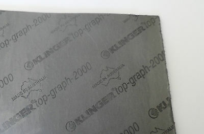 TOPGRAPH 2000 - GRAPHITE HIGH TEMPERATURE GASKET MATERIAL 300mm x 214mm x 1mm
