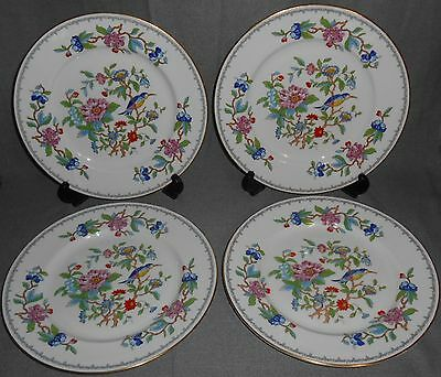 Set (4) Aynsley PEMBROKE PATTERN Dinner Plates ENGLAND