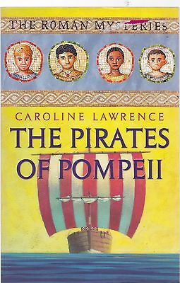 The Pirates of Pompeii by Caroline Lawrence (Paperback, 2002) New Book