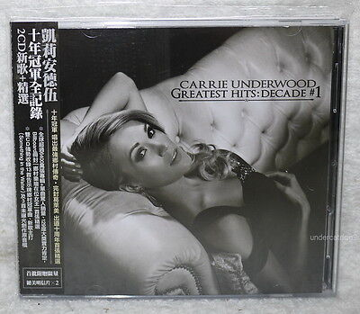 Carrie Underwood Greatest Hits: Decade #1 2014 Taiwan 2-CD+Postcard w/OBI