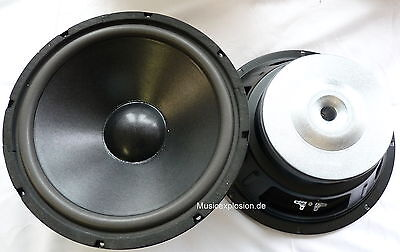 "2x Kenford HW-806 20cm 8"" Subwoofer Hifi 200mm Bass Speaker Woofer PAIR"