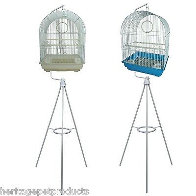 Heritage Medium Bird Cage & Tripod Bird Cages Stand Great Value Budgie Canary