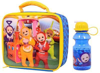Teletubbies Lunch Bag/Box and Tritan Sipper Bottle (400ml) | Lunchbox | NEW