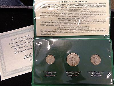 First Coinvestors Inc The Liberty Collection 3 Coin Set