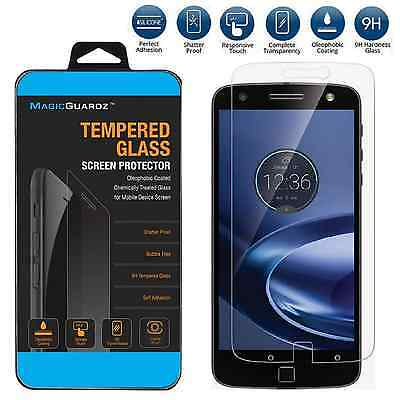 Premium Tempered Glass Screen Protector for Motorola Moto Z Force Droid