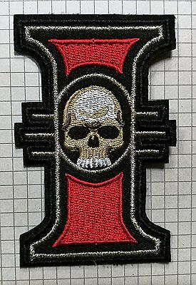 Inquisition Logo Symbol Warhammer 40,000 Embroidered Cloth Iron On Patch