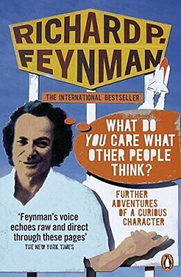 'What Do You Care What Other People Think?': ... by Feynman, Richard P Paperback