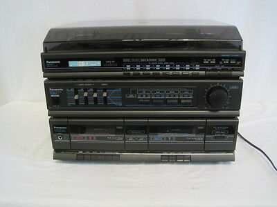 Panasonic Combo Turntable Stereo Cassette Player Home Theater (HKY63-857)