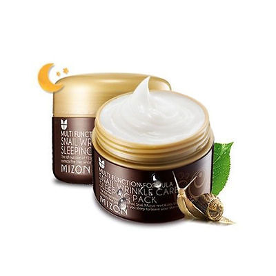 [MIZON] Snail Wrinkle Care Sleeping Pack 80ml / Korean Cosmetics