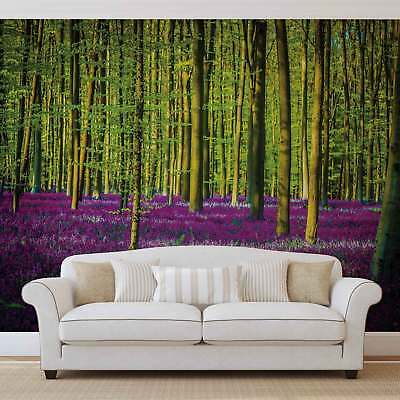WALL MURAL PHOTO WALLPAPER XXL Flowers Forest Nature (1439WS)