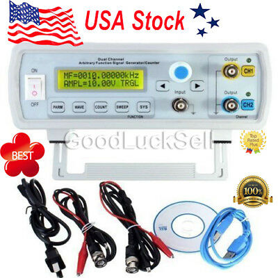 24MHz FY3224S DDS Dual-channel Arbitrary Waveform Function Signal Generator Kit