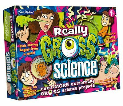 John Adams Really Gross Science Lots Of Extremely Gross Science Projects Age 7 +
