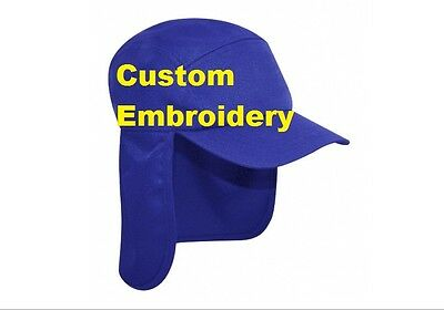Custom Personalised Embroidery Royal Blue Legionnaire SNAPBACK Hat Cap